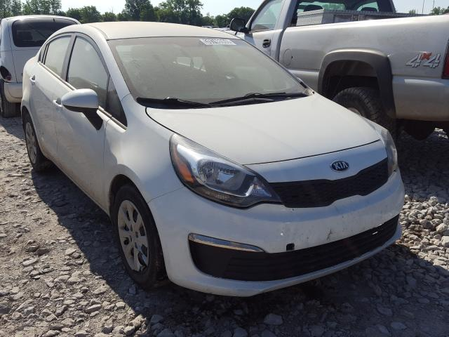 Salvage cars for sale from Copart Columbus, OH: 2016 KIA Rio LX