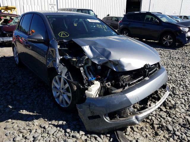 Volkswagen Golf salvage cars for sale: 2011 Volkswagen Golf