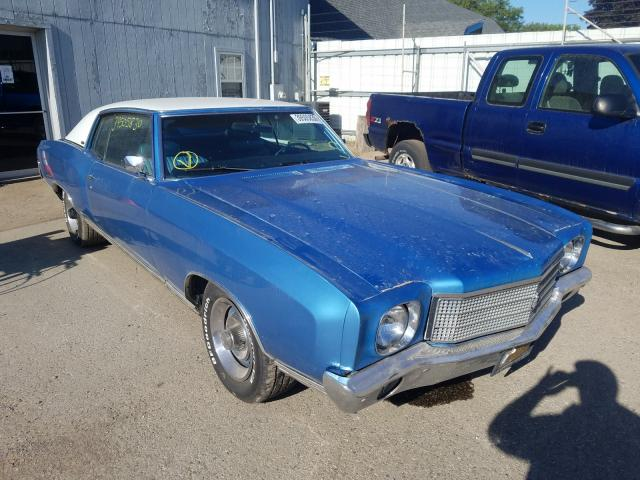 1970 Chevrolet Monte Carl for sale in Davison, MI