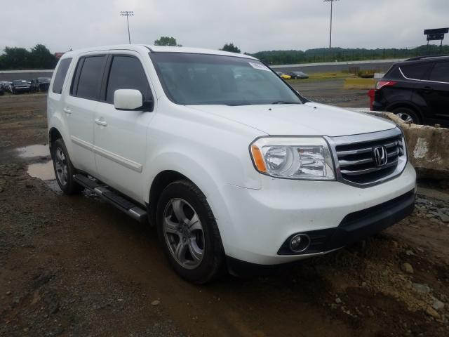 Salvage cars for sale from Copart Concord, NC: 2014 Honda Pilot EXL