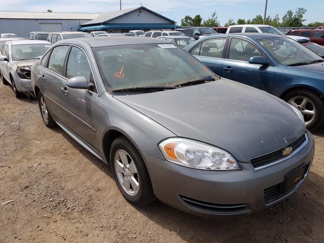 Salvage cars for sale from Copart Pekin, IL: 2009 Chevrolet Impala 1LT