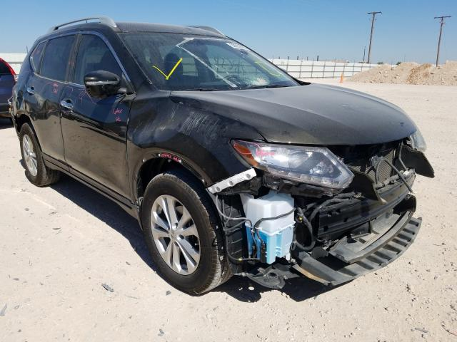 Salvage cars for sale from Copart Andrews, TX: 2014 Nissan Rogue S