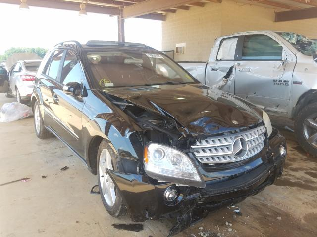 Mercedes-Benz salvage cars for sale: 2006 Mercedes-Benz ML 500