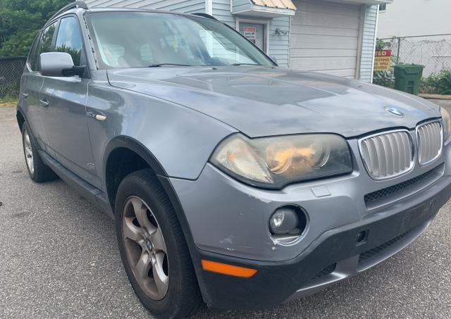 Salvage cars for sale from Copart Sandston, VA: 2008 BMW X3 3.0SI