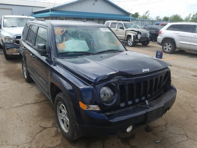 Jeep Patriot SP salvage cars for sale: 2016 Jeep Patriot SP