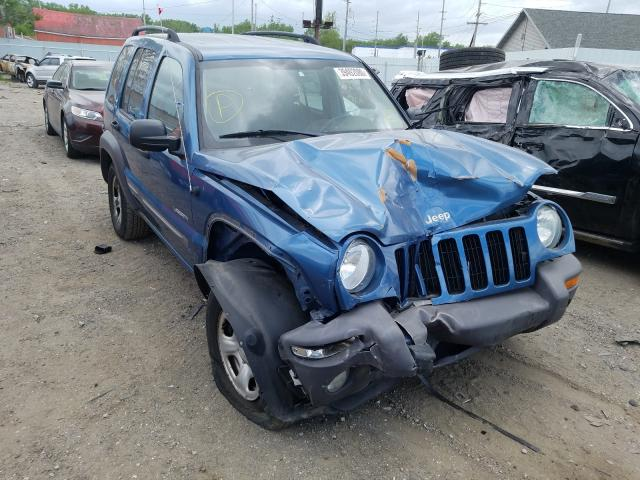Jeep Liberty SP salvage cars for sale: 2004 Jeep Liberty SP