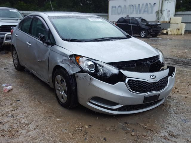Salvage cars for sale from Copart Midway, FL: 2015 KIA Forte LX