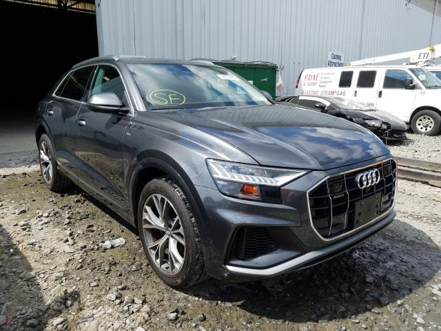 Audi Q8 Prestige salvage cars for sale: 2020 Audi Q8 Prestige