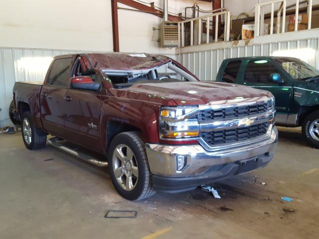 Salvage cars for sale from Copart Longview, TX: 2016 Chevrolet Silverado