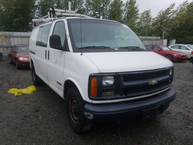 Chevrolet Express G3 salvage cars for sale: 1999 Chevrolet Express G3