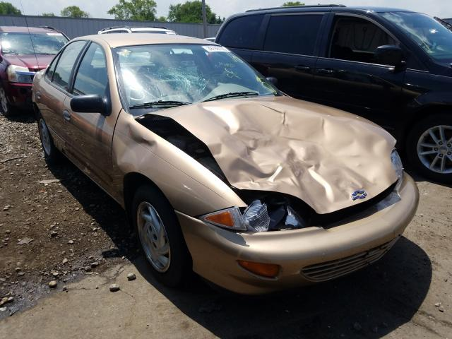 Chevrolet Cavalier salvage cars for sale: 1998 Chevrolet Cavalier