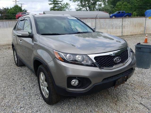 Salvage cars for sale from Copart Northfield, OH: 2011 KIA Sorento BA