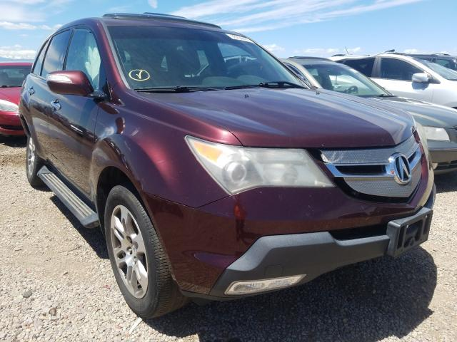 Acura salvage cars for sale: 2007 Acura MDX Techno