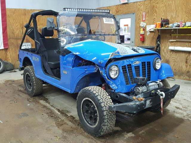 Mahindra And Mahindra salvage cars for sale: 2018 Mahindra And Mahindra TR20