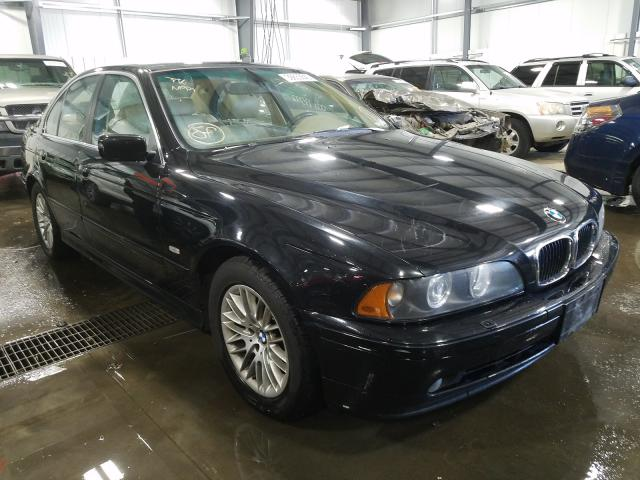 BMW 530 I Automatic salvage cars for sale: 2002 BMW 530 I Automatic