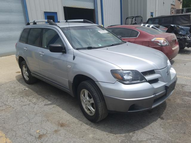 Salvage cars for sale from Copart Waldorf, MD: 2004 Mitsubishi Outlander