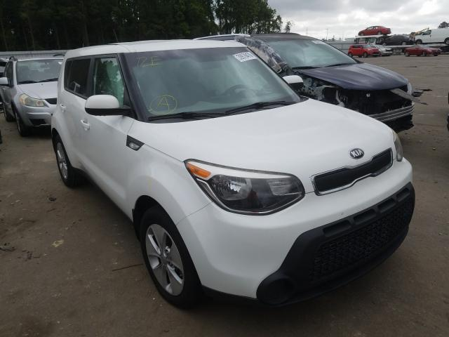 Salvage cars for sale from Copart Dunn, NC: 2014 KIA Soul