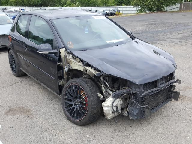 Volkswagen New GTI FA salvage cars for sale: 2007 Volkswagen New GTI FA