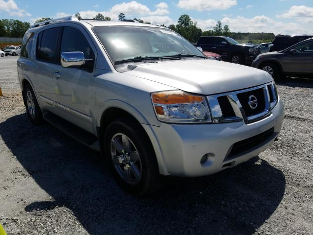 Salvage cars for sale from Copart Spartanburg, SC: 2011 Nissan Armada PLA