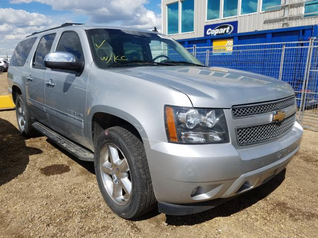 Chevrolet salvage cars for sale: 2013 Chevrolet Suburban K