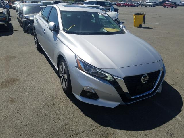 Nissan Altima SL salvage cars for sale: 2020 Nissan Altima SL