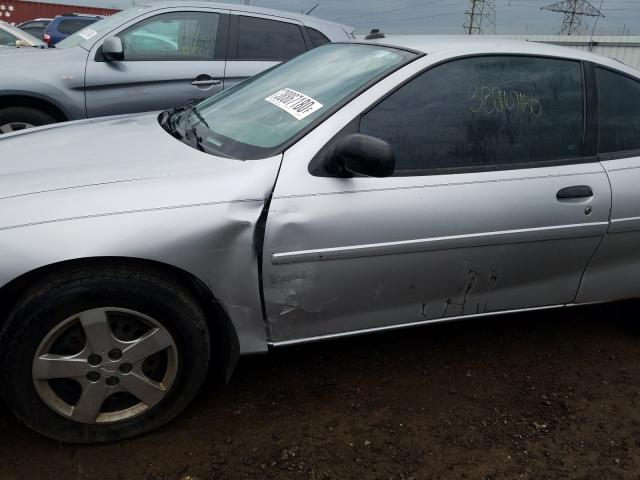 salvage certificate 2003 chevrolet cavalier coupe 2 2l for sale in elgin il 38867180 a better bid car auctions