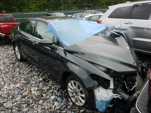 Salvage cars for sale from Copart Candia, NH: 2015 Ford Fusion S