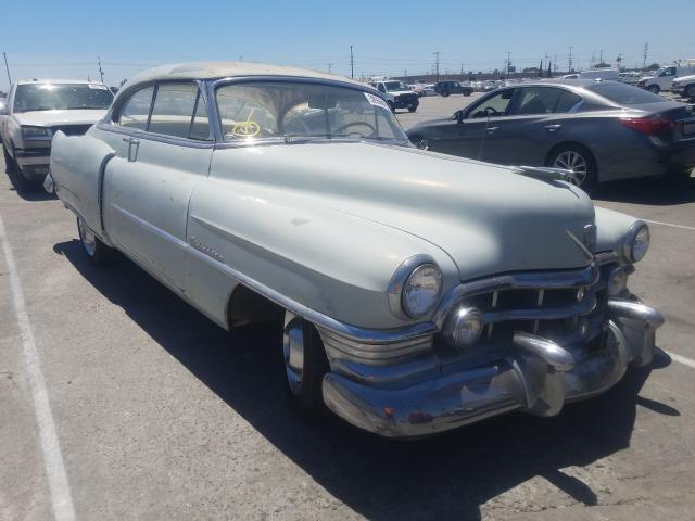 Salvage cars for sale from Copart Sun Valley, CA: 1950 Cadillac Series 61