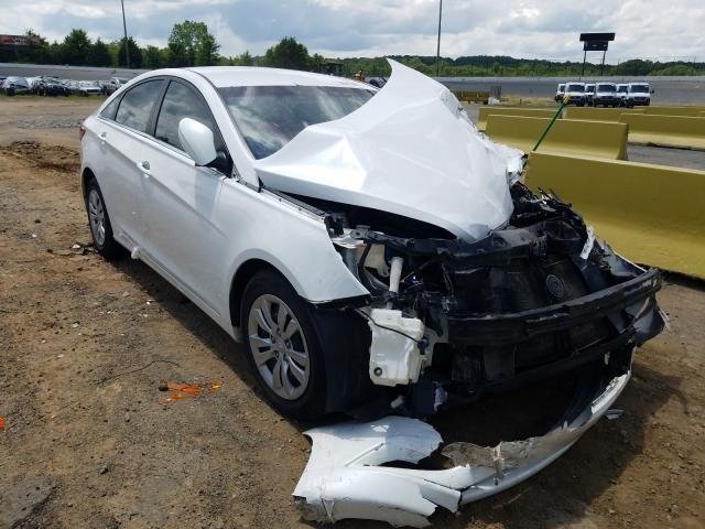 Salvage cars for sale from Copart Concord, NC: 2011 Hyundai Sonata GLS