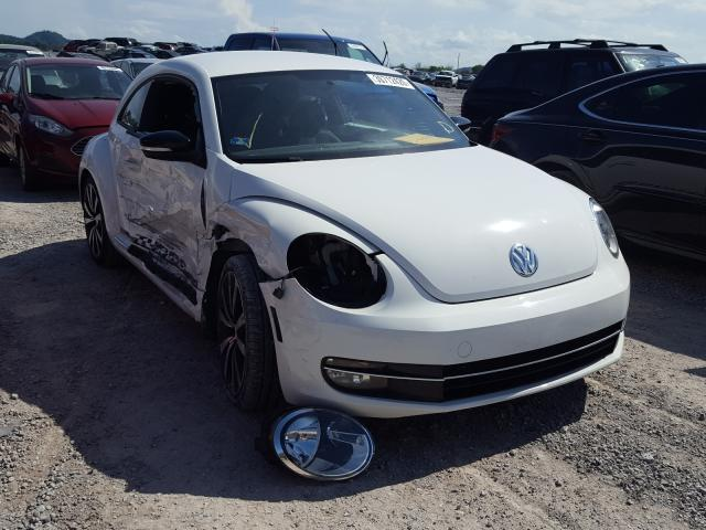 Salvage cars for sale from Copart Madisonville, TN: 2012 Volkswagen Beetle Turbo