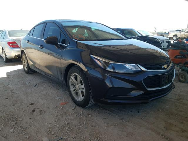 Salvage cars for sale from Copart Temple, TX: 2016 Chevrolet Cruze LT