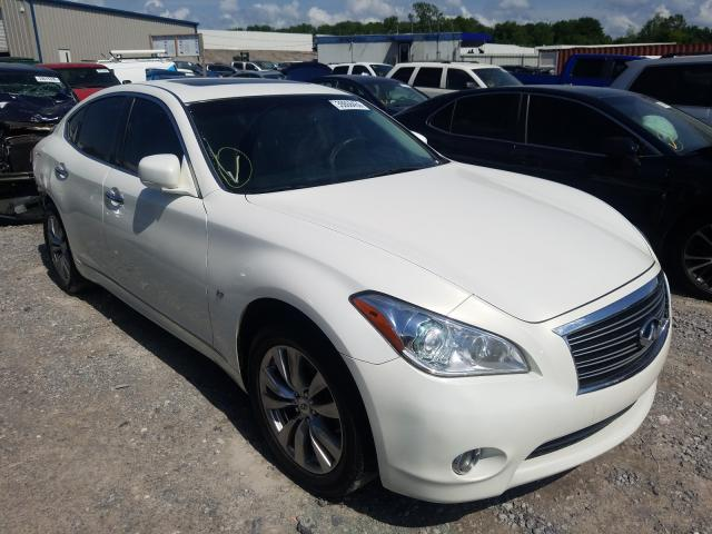 Salvage cars for sale from Copart Hueytown, AL: 2014 Infiniti Q70 3.7