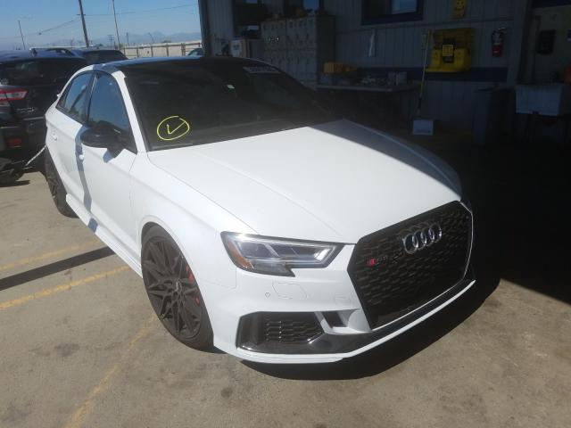 Audi salvage cars for sale: 2018 Audi RS3