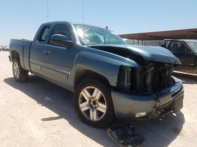 Salvage cars for sale from Copart Andrews, TX: 2008 Chevrolet Silverado