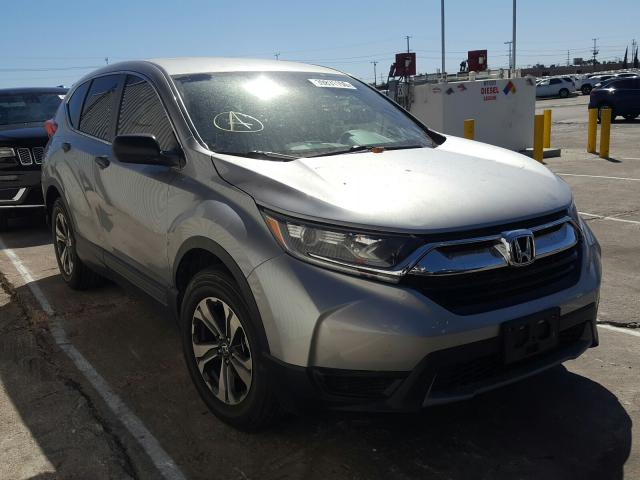 Salvage cars for sale from Copart Sun Valley, CA: 2018 Honda CR-V LX