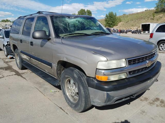 Chevrolet Suburban K salvage cars for sale: 2001 Chevrolet Suburban K