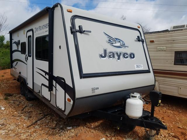 Jayco Jayfeather salvage cars for sale: 2015 Jayco Jayfeather