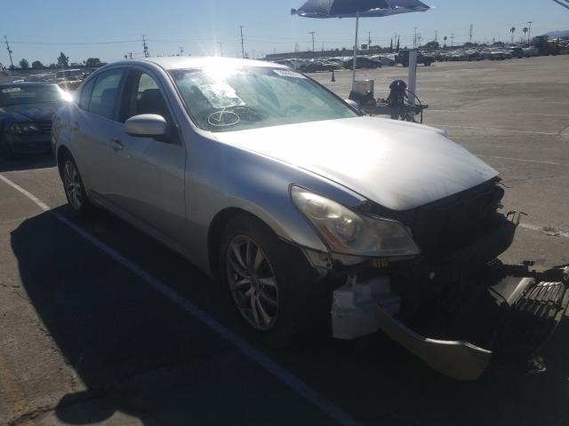 Salvage cars for sale from Copart Sun Valley, CA: 2007 Infiniti G35