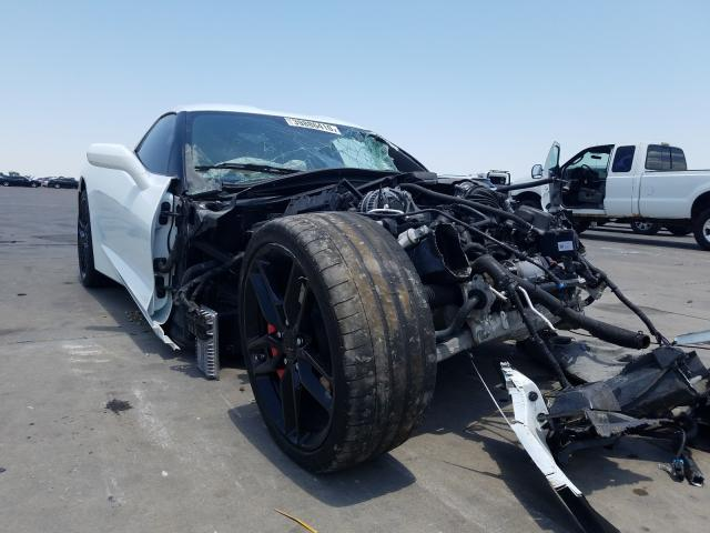 Salvage cars for sale from Copart Wilmer, TX: 2019 Chevrolet Corvette S