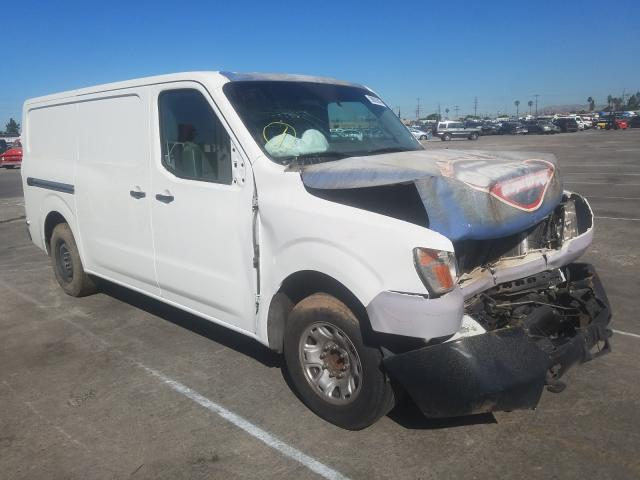 Salvage cars for sale from Copart Sun Valley, CA: 2015 Nissan NV 2500