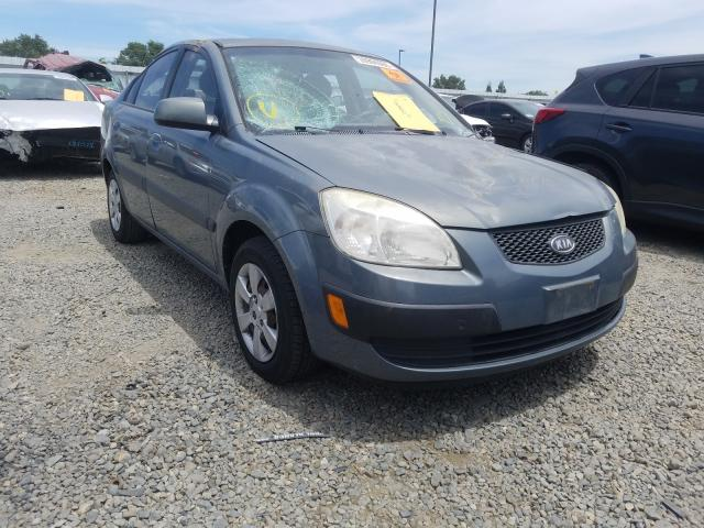 KIA Rio Base salvage cars for sale: 2007 KIA Rio Base