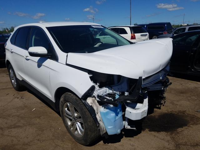 Ford Edge salvage cars for sale: 2018 Ford Edge