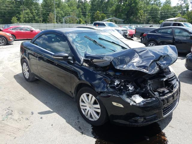 Volkswagen EOS Turbo salvage cars for sale: 2009 Volkswagen EOS Turbo
