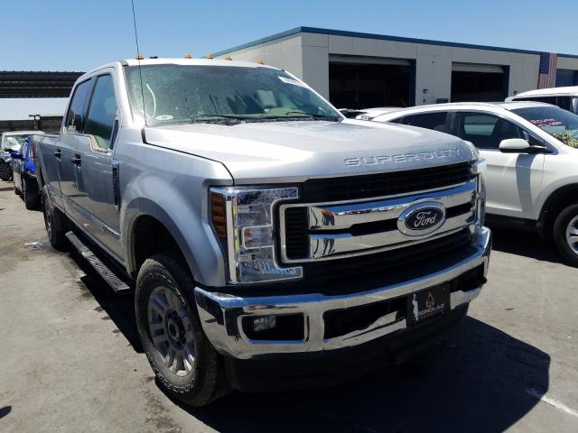 Salvage cars for sale from Copart Anthony, TX: 2019 Ford F250 Super