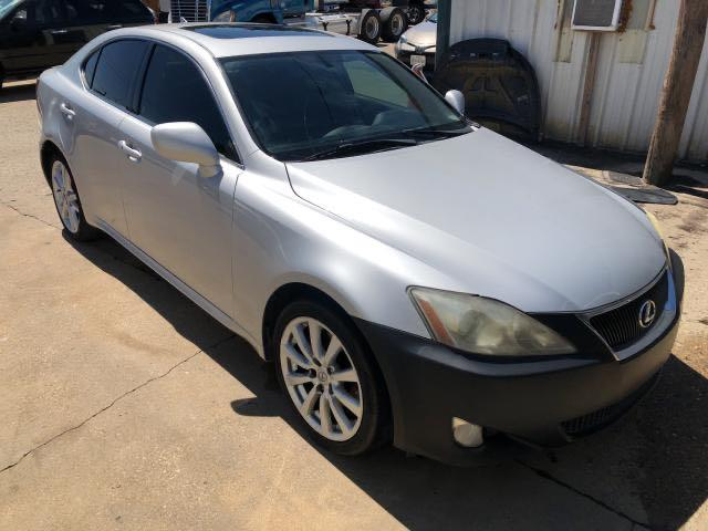Salvage cars for sale from Copart Grand Prairie, TX: 2008 Lexus IS 250