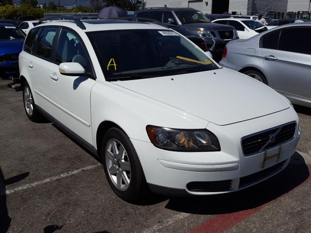 Volvo salvage cars for sale: 2006 Volvo V50 2.4I