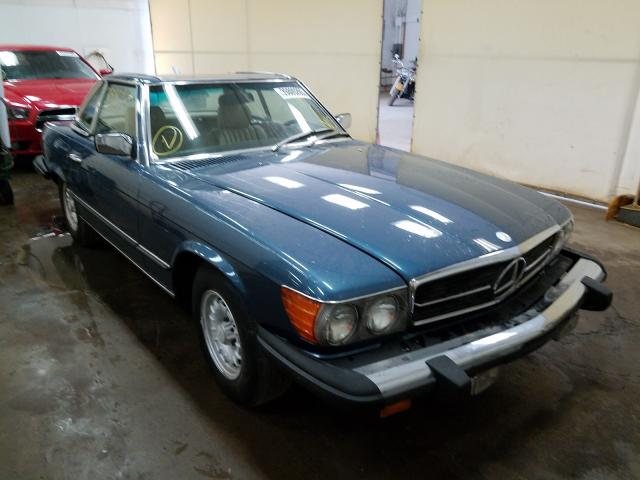 Mercedes-Benz 450SL salvage cars for sale: 1980 Mercedes-Benz 450SL