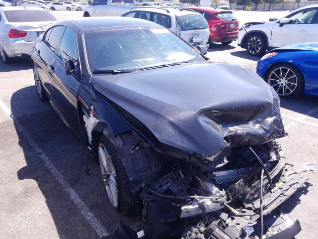 Salvage cars for sale from Copart Rancho Cucamonga, CA: 2014 BMW 640 I Gran