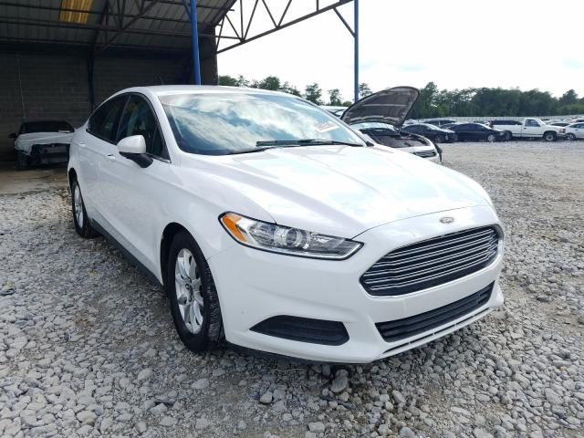 Ford Fusion S salvage cars for sale: 2015 Ford Fusion S