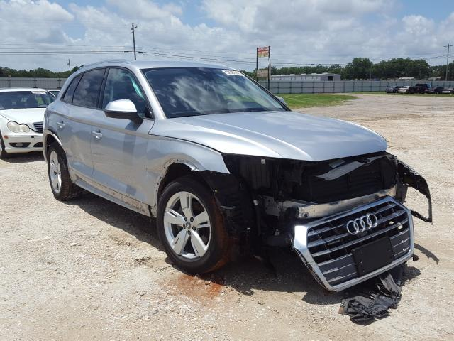 Salvage cars for sale from Copart Newton, AL: 2018 Audi Q5 Premium